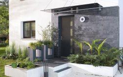 entree exterieur maison moderne
